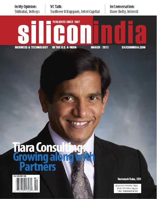 Tiara Cover Story in Silicon India March 2012